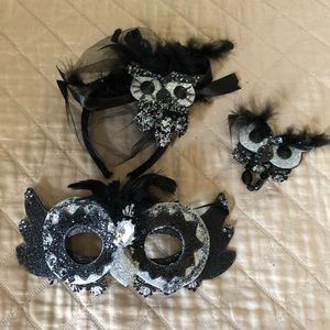 Owl Halloween Mask and Accessories